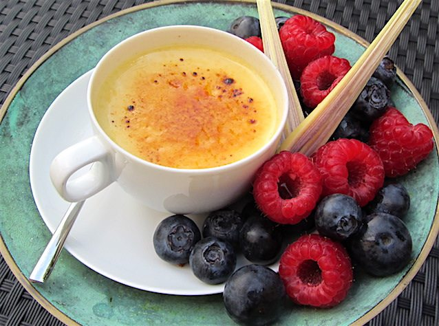 Asian Style Creme Brulee 1 klein
